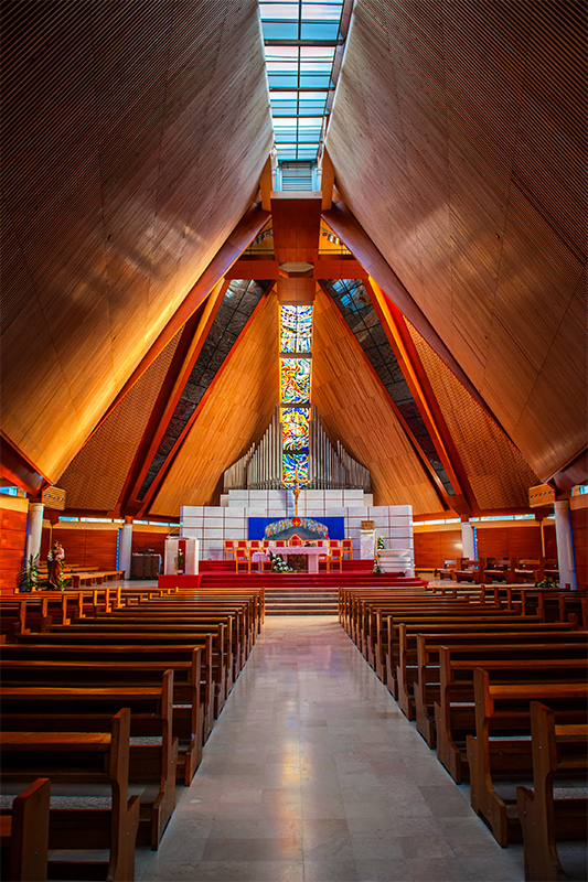 Modern Religious Church Architecture