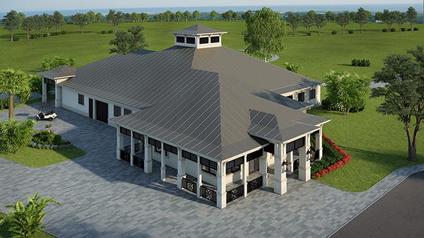 Golf Pro Shop and Cart Barn