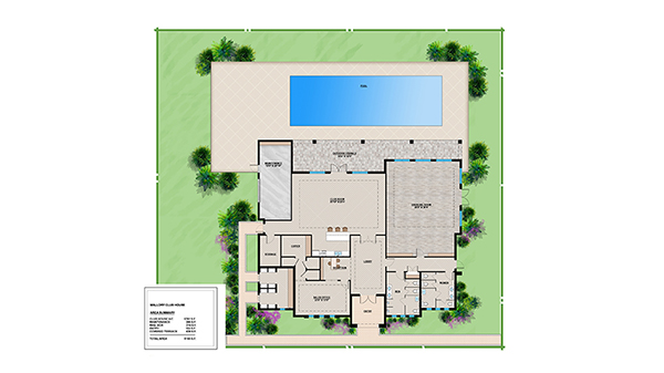 Mallory Clubhouse Floor Plan
