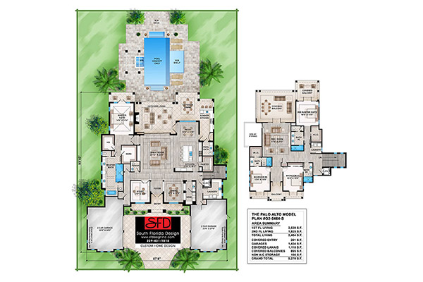 Palo Alto Elevation Floor Plan