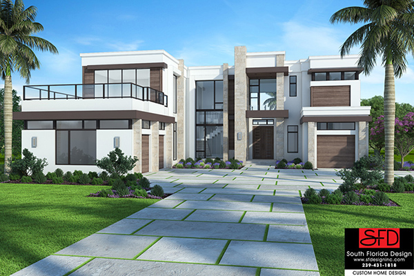 Salma Elevation House Plan